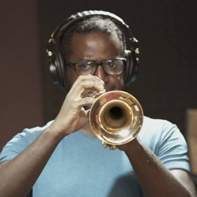 recording trumpet for custom backing tracks